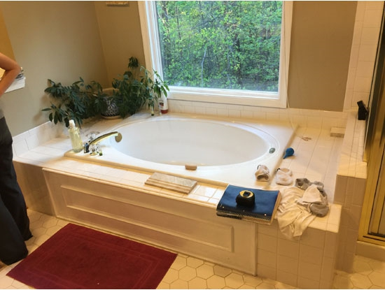 MD bathroom remodeled