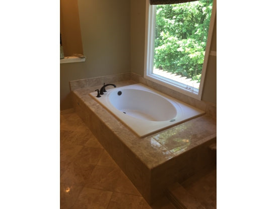 Finished tub surround MD